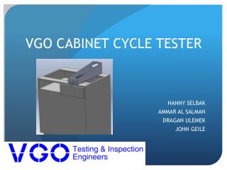 VGO CABINET CYCLE TESTER