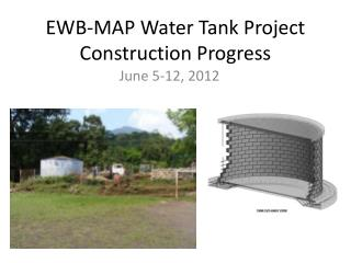 EWB-MAP Water Tank Project Construction Progress