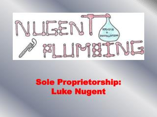 Sole Proprietorship: Luke Nugent