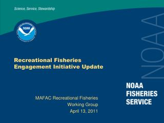 recreational fisheries  engagement initiative update