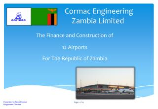Cormac Engineering Zambia Limited