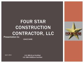 Four Star Construction Contractor, LLC