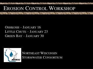 Erosion Control Workshop