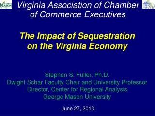 Virginia Association of Chamber   of Commerce Executives
