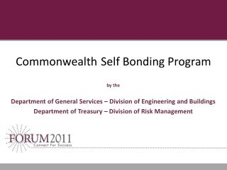 Commonwealth Self Bonding Program