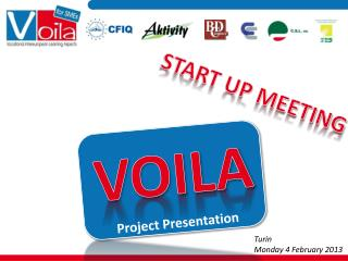 START UP MEETING