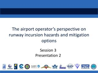 The airport operator�s perspective on runway incursion  hazards and mitigation options
