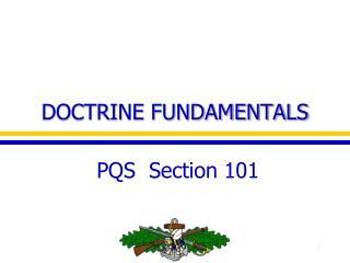 DOCTRINE FUNDAMENTALS