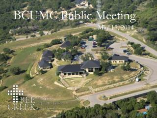 BCUMC Public Meeting