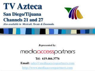 TV Azteca San DiegoTijuanan