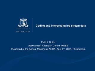 Coding and interpreting log stream data
