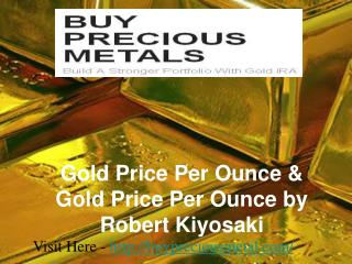 Gold Price Per Ounce