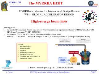 The MYRRHA HEBT