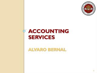 ACCOUNTING SERVICES ALVARO BERNAL