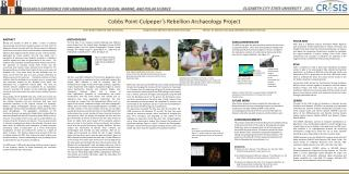 Cobbs  Point-Culpeper's Rebellion Archaeology Project