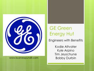 GE Green Energy Hut