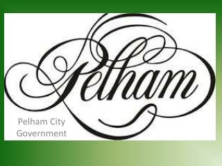 Pelham City Government