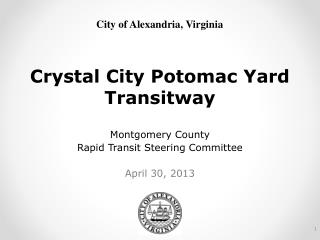 Crystal City Potomac Yard Transitway