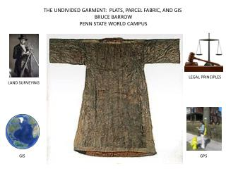 THE UNDIVIDED GARMENT:  PLATS, PARCEL FABRIC, AND GIS BRUCE BARROW PENN STATE WORLD CAMPUS