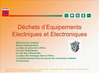 d chets d equipements electriques et electroniques