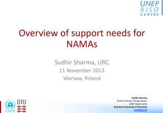 Sudhir Sharma, URC 11 November 2013 Warsaw, Poland