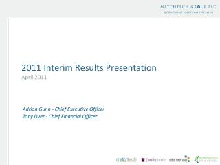 2011 interim results presentation