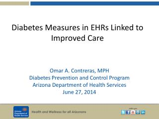 Diabetes Measures in EHRs Linked to Improved Care