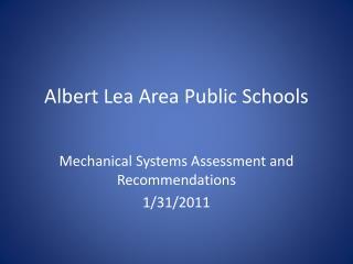 Albert Lea Area Public Schools