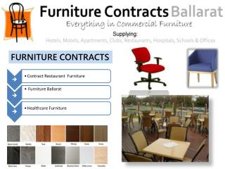 Decorate Your Restaurant With Furniture Ballarat