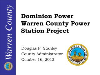 Dominion Power Warren County Power Station Project