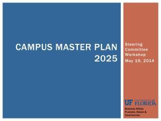 Campus Master Plan 2025