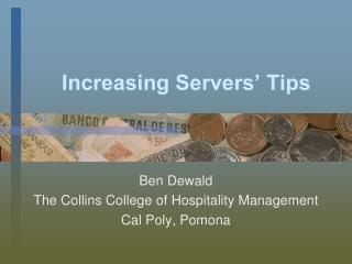 increasing servers  tips