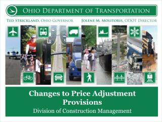 Changes to Price Adjustment Provisions