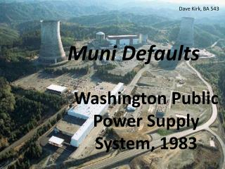 Muni Defaults