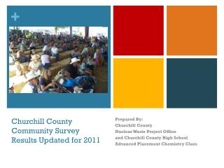 Churchill County Community Survey Results Updated for 2011