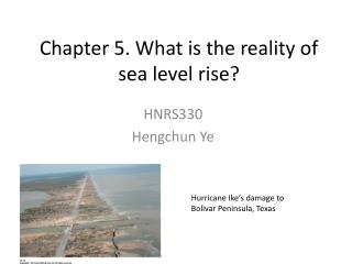 Chapter 5. What is the reality of sea level rise?