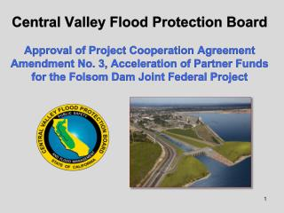 Folsom Dam Joint Federal Project (JFP)