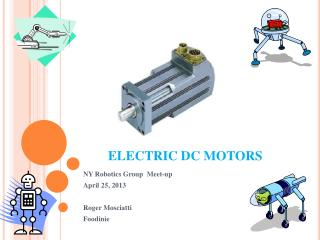 ELECTRIC DC MOTORS