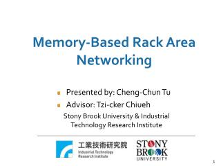 Memory-Based Rack Area Networking