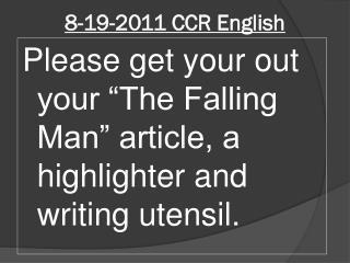 8-19-2011  CCR English