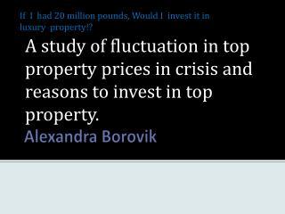 Alexandra  Borovik