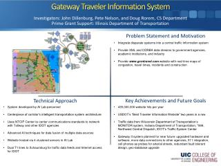 Gateway Traveler Information System