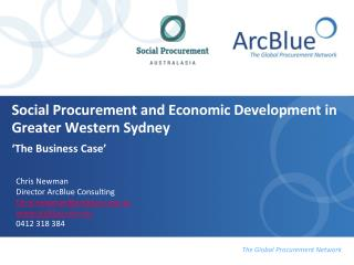 Social Procurement and Economic Development in Greater Western Sydney