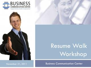 Resume Walk Workshop