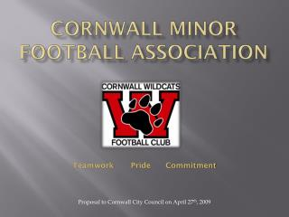 CORNWALL MINOR FOOTBALL ASSOCIATION