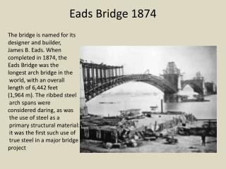 Eads  Bridge 1874
