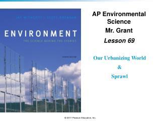 AP Environmental Science Mr. Grant Lesson  69