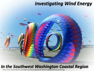 Investigating Wind Energy