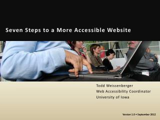 Seven Steps to a More Accessible Website
