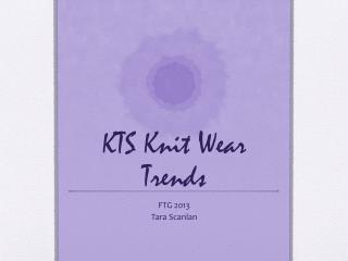 KTS Knit Wear Trends